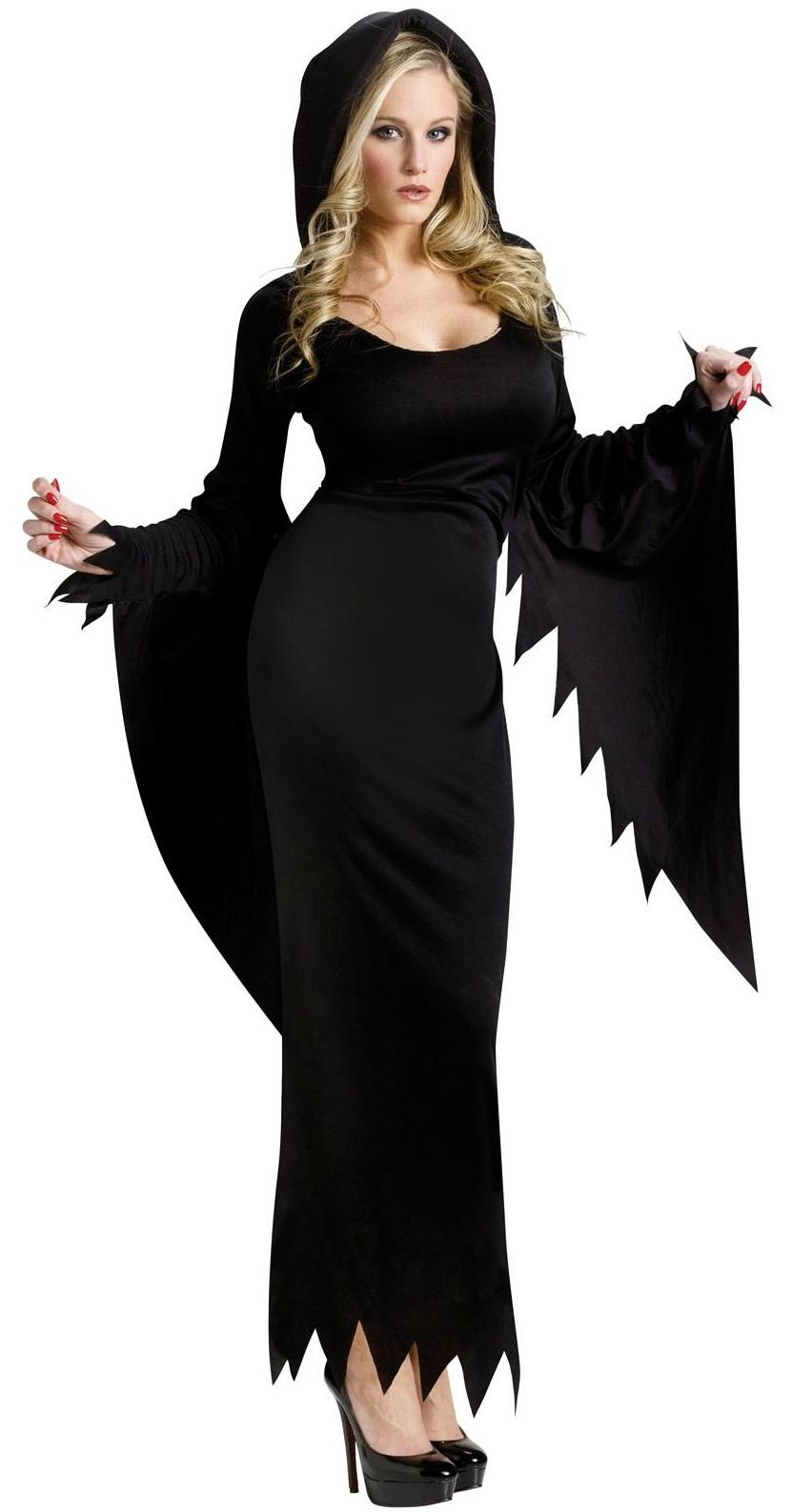 Страшно-прекрасный костюм для Хэллоуина