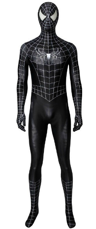 Костюм Black Spiderman - Deluxe
