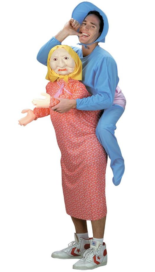 Карнавальный костюм Бабушка с ребенком