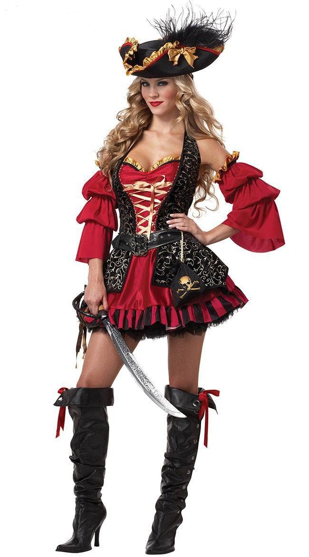 костюм пиратки для взрослы картинки решили